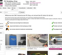 CMC delivery of the R / C Model Shop German online store