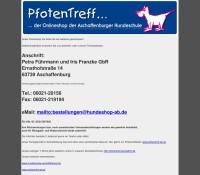 The online shop of Hundeschule Aschaffenburg German online store