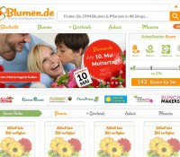 The online shop for flowers and NOSEGAY German online store