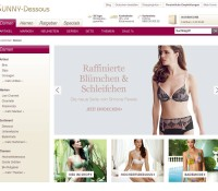 Lingerie underwear and lingerie in the lingerie store German online store