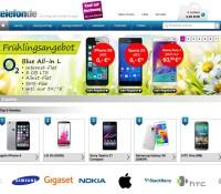 telefon.de Handels AG – Internet shop for phones, mobile phone accessories, organizer and Faxes German online store