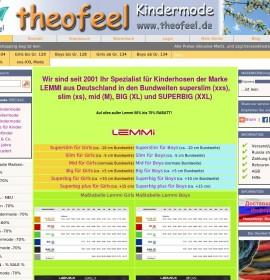 theo feel children Modeversand German online store