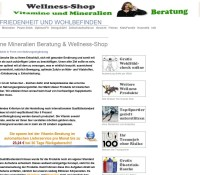 Vitamins Minerals Consulting – Wellness-Shop German online store