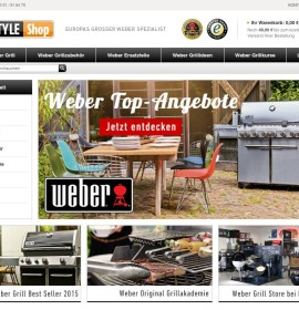 Weber Grill Shop – Gas Grill, Charcoal Grill & Grill Accessories German online store