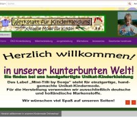 Workshop for children's clothes German online store