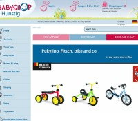 babyshop.de stroller Sigikid child seats Cybex Solution Sterntaler German online store