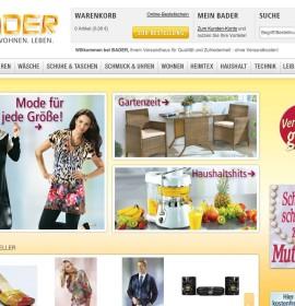 bader.de German online store