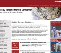 Handicraft articles from hobby shipping Monika Schlachter German online store