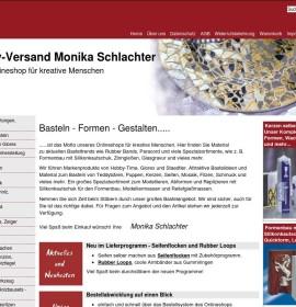 Handicraft articles from hobby shipping Monika Schlachter German online store