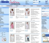 Workwear for medical professionals German online store