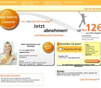 Lose up to 16kg in 4 weeks – The slim-line concept. German online store