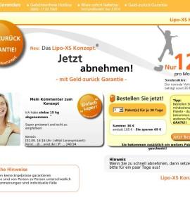Lose up to 16kg in 4 weeks – The slim-line concept. German online store