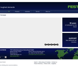 Festool TTS Tooltechnic Systems – German power tool manufacturer