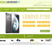 Online shop with mobile devices Polish online store