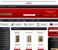 Shelves for wine Polish online store