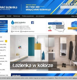 Efekt-lazienka.pl – Bathroom furniture Polish online store