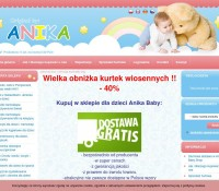 Online shop for children Anika Baby Shop Polish online store