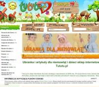 Tututu.pl – items for children Polish online store