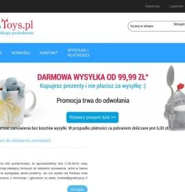 www.godstoys.pl – a gift for a girl Polish online store