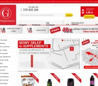 Shop with nutrients Polish online store
