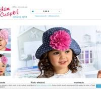 Caps for children Polish online store