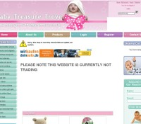 Baby Treasure Trove store Babies Gifts British online store