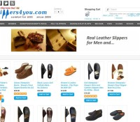 Leather Slippers store Gifts Fashion British online store