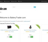 Battery Trader store Garden & DIY  British online store