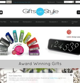 Gifts with Style store Gifts  British online store