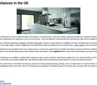 Internet Appliances store Household Appliances House & Home British online store