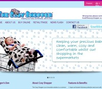 www.thecosyshopper.co.uk store Babies Gifts British online store