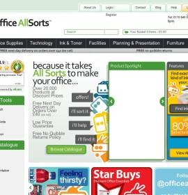 Office Allsorts store Office Supplies  British online store