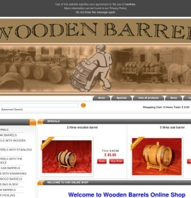 Woodenbarrel.co.uk store Arts and Crafts Food & Drink British online store