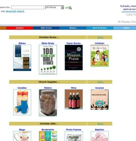 Christian Bits store CDs & Music Books British online store