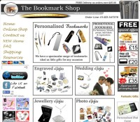 The Bookmark Shop store Books Gifts British online store