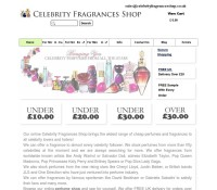 Celebrity Fragrances store Beauty Care  British online store