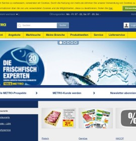 Metro Cash & Carry – Supermarkets & groceries in Germany