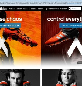 adidas – Fashion & clothing stores in Germany