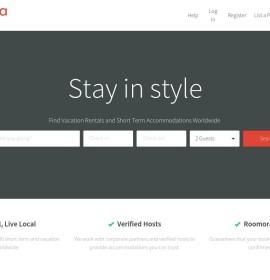 Roomorama – International travel & hotel booking website