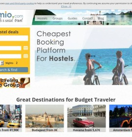 Gomio – International travel & hotel booking website