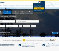 Expedia – International travel & hotel booking website