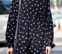 Fashion Polka Dot Chiffon Dress – OASAP – Women's Clothes – Dresses – ,