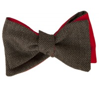 Bow tie – Caviar – Gray – Carnet de Mode – Men's Clothes – Accessories – Neckties & Bow Ties,