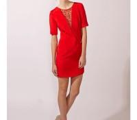 Lace Insert Dress – Carnet de Mode – Women's Clothes – Dresses – ,
