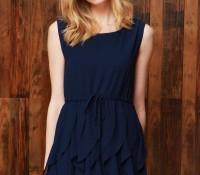 Ruffled Sleeveless Chiffon Dress – OASAP – Women's Clothes – Dresses – ,