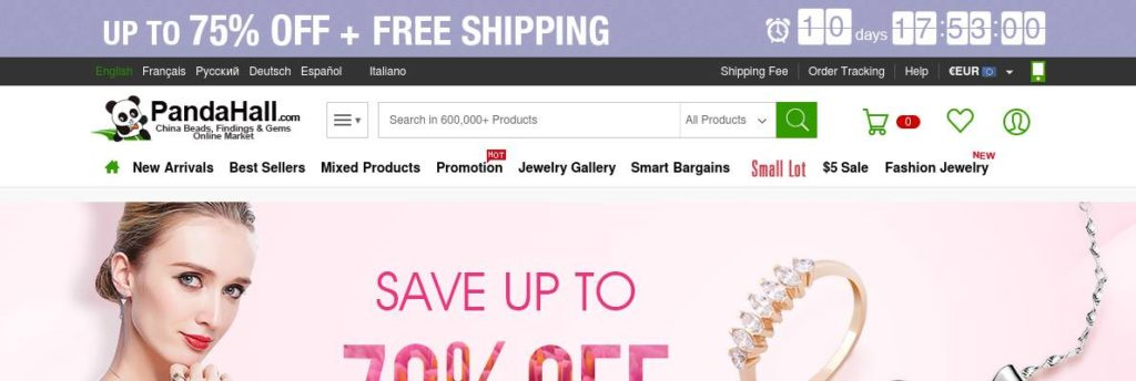 Up to 70% OFF on Quality Jewelry from Tinysand