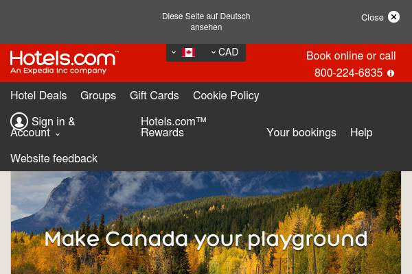 CA - Hit the open road and save up 30% + an extra $45 CAD off when you spend $300+ with code ROADS45C.