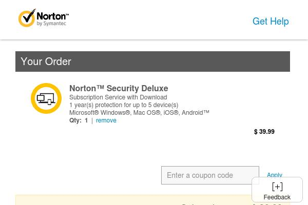 US-FLASH SALE! Save $50 on 1 Year of Norton Security Deluxe and protect your devices now for only $39.99! Offer ends on Tuesday 6/20.