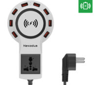 Nexodus LifeLine 8 Port USB Charging Station- Qi Wireless Charging Pad and Free USB-C Cable (White) – Chinavasion Wholesale Electronics & Gadgets – Computers & Networking – Joysticks Pads Steering Wheels – , Smartphone & Tablet Accessories – Cables – , Smartphone & Tablet Accessories – Charger & Wireless Charger – ,